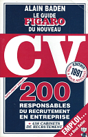 Guide du Figaro du CV par Alain Baden